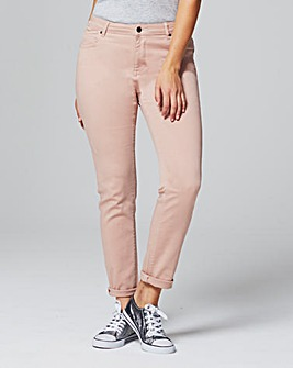 Sadie Dusky Pink Relaxed Jeans Short