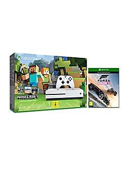 XboxOne S 500GB Inc Minecraft and Forza3