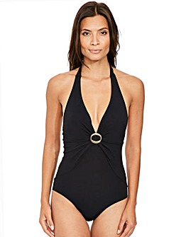 Icon Halter Shaping Swimsuit