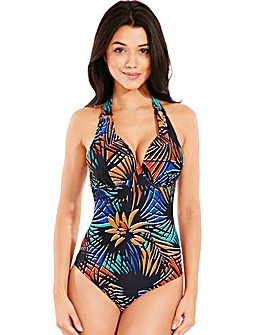 Fern Multi Underwired Halter Swimsuit