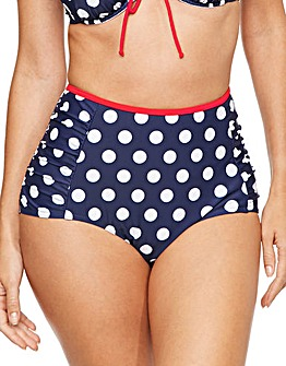 Sailor High Waist Brief