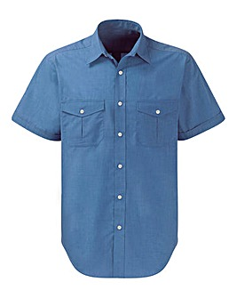 Premier Man Blue Pilot Shirt R