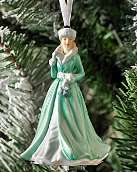 Royal Doulton Silver Bells Ornament