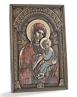 Madonna & Child Wall Plaque