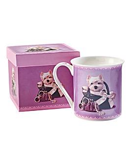 Westie Boxed Mug