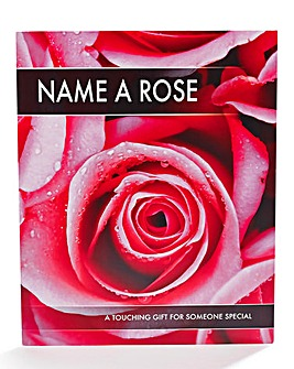Personalised Name a Rose