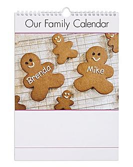 Family Calendar - 2 Family Members