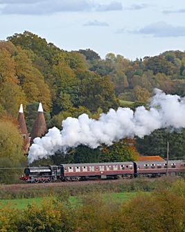 Steam Train Trip and Afternoon Tea For 2