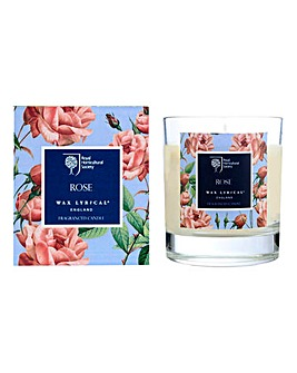 RHS Rose Boxed Candle