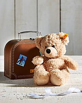 Steiff Fynn Bear In A Suitcase