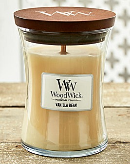 WoodWick Vanilla Bean Medium Jar