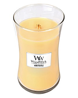 WoodWick Honeysuckle Large Jar