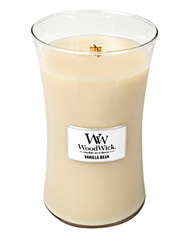 WoodWick Vanilla Bean Large Jar