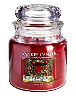 Yankee Candle Red Apple Wreath Medium