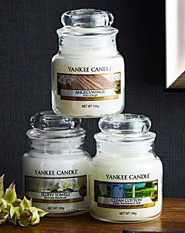 Yankee Candle set of 3 Fresh Collection