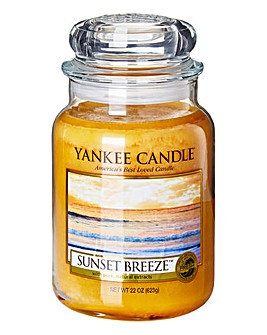 Yankee Candle Sunset Breeze Large Jar