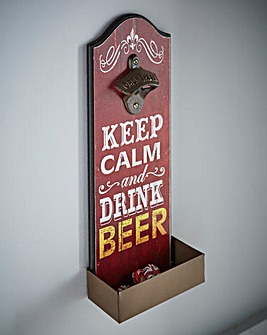 Keep Calm and Drink Beer Bottle Opener