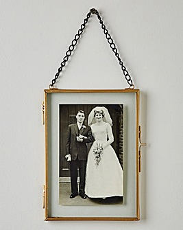 Vintage Style hanging Photo Frame