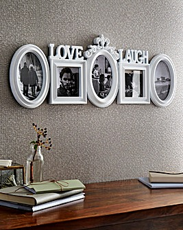 Love and Laugh Multi Aperture Frame