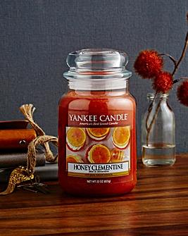 Yankee Candle Honey Clementine Large Jar