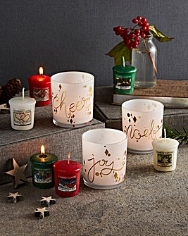 Yankee Candle Festive Votive Collection