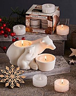 Yankee Candle Polar Bear Tealight Set