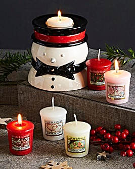 Yankee Candle Snowman Votives Set