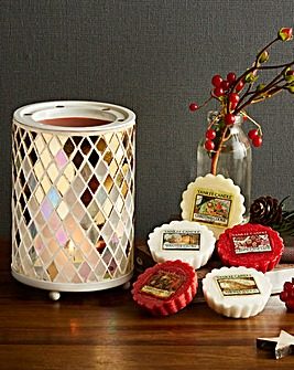 Yankee Candle Melt Warmer and 5 Melts