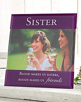 Sister Glass Photo Frame
