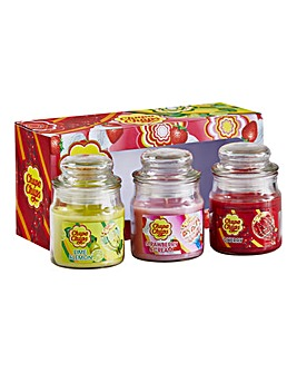 Chupa Chups Jar Candles - Set of 3