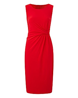 Sleeveless ITY Knot Dress