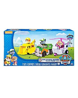 Paw Patrol Racers Team Pack 4
