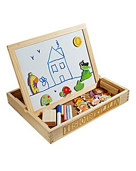 Personalised 3 in 1 Magnetic Drawing Box