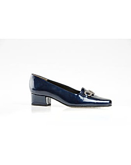 Van Dal Twilight Navy Patent Court Shoe