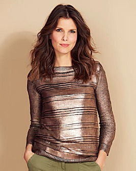 Metallic Jumper