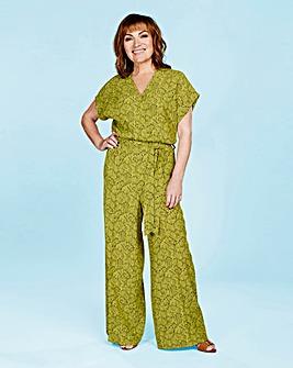 Lorraine Kelly Print Wrap Jumpsuit