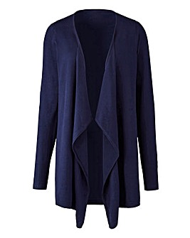 Navy Waterfall Cardigan