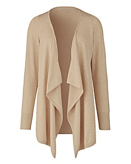 Stone Marl Waterfall Cardigan
