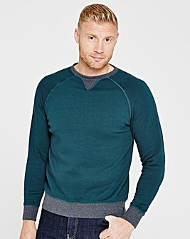 Flintoff By Jacamo Sweatshirt Long