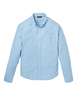 Capsule Long Sleeve Design Oxford Shirt