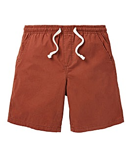W&B Rust Elasticated Shorts