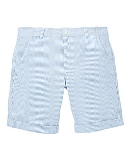 WILLIAMS & BROWN Seersucker Shorts