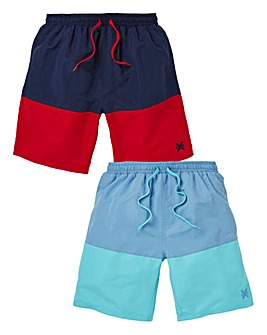 Capsule Pack Of 2 Swimshorts