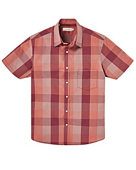 W&B Rust Short Sleeve Check Shirt