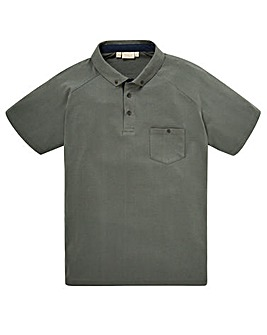 WILLIAMS & BROWN Waffle Polo Shirt