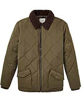 WILLIAMS & BROWN Quilted Bomber
