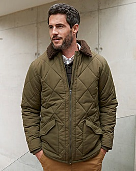 WILLIAMS & BROWN Quilted Jacket