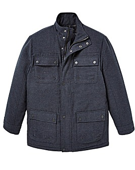W&B Indigo Padded Coat R