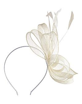 Ivory Headband-Style Fascinator