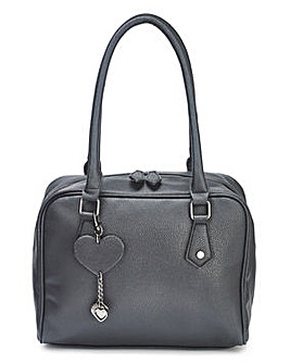 Lola Black Bowler Bag